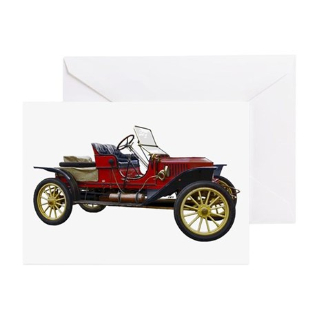 Vintage Car Greeting Cards (Pk of 20)