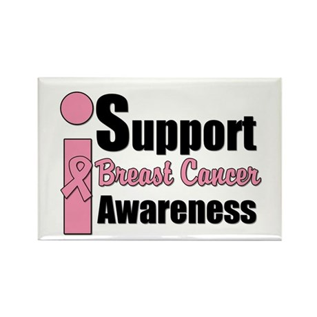 I Support BCA Rectangle Magnet