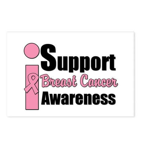 I Support BCA Postcards (Package of 8)