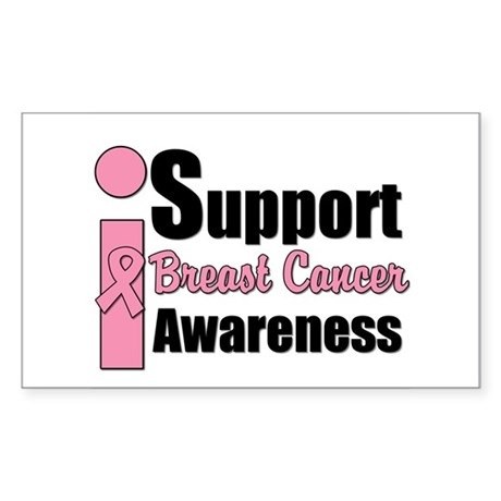I Support BCA Rectangle Sticker