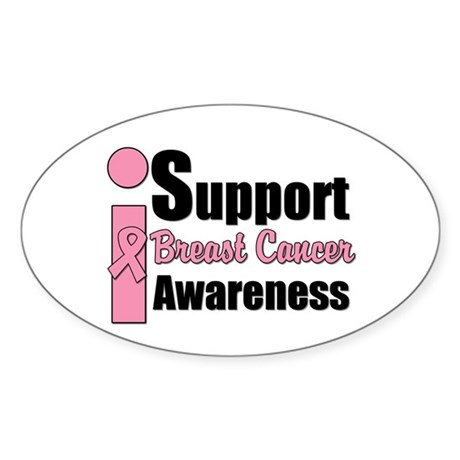 I Support BCA Oval Sticker (10 pk)