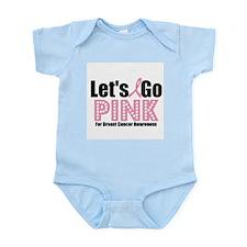 Let's Go Pink For BCA Infant Bodysuit