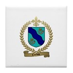 CORBIN Family Crest Tile Coaster
