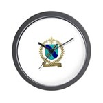 CORBIN Family Crest Wall Clock