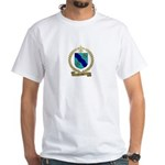 CORBIN Family Crest White T-Shirt