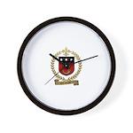 CORPORON Family Crest Wall Clock