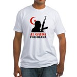Al Qaida for Obama Fitted T-Shirt