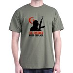 Al Qaida for Obama Dark T-Shirt