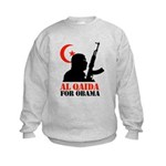 Al Qaida for Obama Kids Sweatshirt
