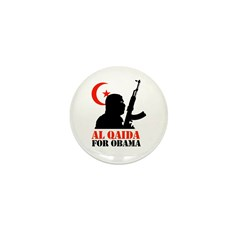 Al Qaida for Obama Mini Button (10 pack)