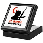Al Qaida for Obama Keepsake Box