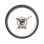 COTE Family Crest Wall Clock