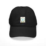COURTEMANCHE Family Crest Black Cap