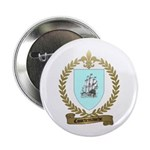 COURTEMANCHE Family Crest Button