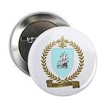 COURTEMANCHE Family Crest Button