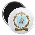 COURTEMANCHE Family Crest Magnet