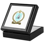 COURTEMANCHE Family Crest Keepsake Box