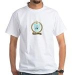COURTEMANCHE Family Crest White T-Shirt