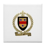 CYR Family Crest Tile Coaster