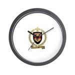 CYR Family Crest Wall Clock