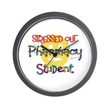 Cute Pharmacy student Wall Clock