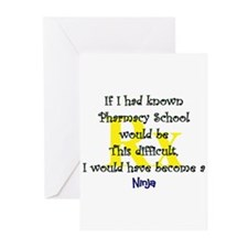 Unique Pharmacy student Greeting Cards (Pk of 20)