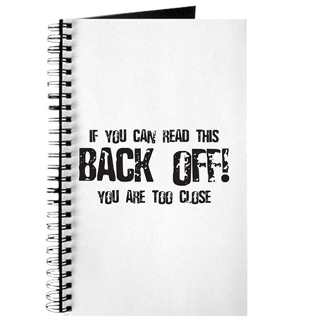 Back off! Journal