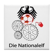 "Whooligan Germany ""Die Nationalelf"" Tile Coaster"