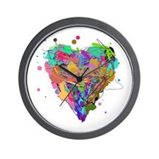 The Complex Heart Wall Clock