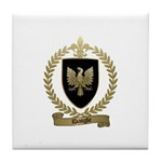 DAIGLE Family Crest Tile Coaster