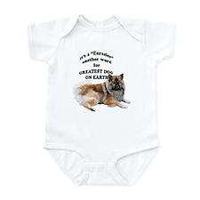 Eurasier dog Infant Bodysuit