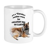 Eurasier dog Small Mugs
