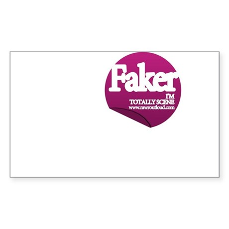 Faker Rectangle Sticker