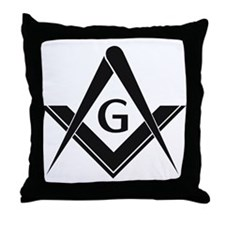 Freemason Merchandise Throw Pillow