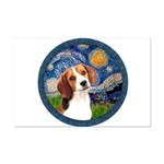Starry Night Beagle #1 Mini Poster Print