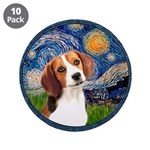 Starry Night Beagle #1 3.5