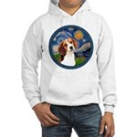 Starry Night Beagle #1 Hooded Sweatshirt