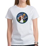 Starry Night Beagle #1 Women's T-Shirt