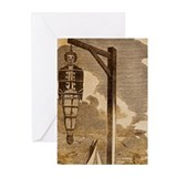 Hang In There- Pirate Greeting Cards (Pack of 10)