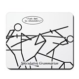 SpecGram Phonology/Phonetics Mousepad