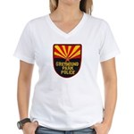 Greyhound Police Women's V-Neck T-Shirt