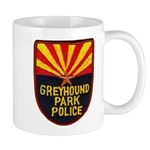 Greyhound Police Mug