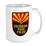 Greyhound Police Large Mug