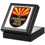 Greyhound Police Keepsake Box