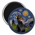 Starry Night Doberman (#1) Magnet