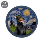 Starry Night Doberman (#1) 3.5