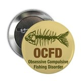 "OCFD Obsessive Fishing 2.25"" Button (100 pack)"