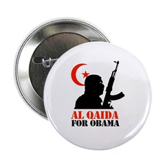 "Al Qaida for Obama 2.25"" Button"