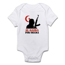 Al Qaida for Obama Infant Bodysuit