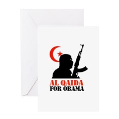 Al Qaida for Obama Greeting Card